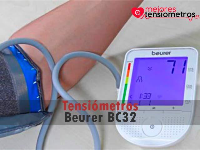 Tensiómetros Beurer BC32