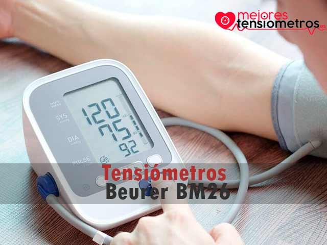 Tensiómetros Beurer BM26