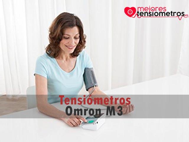 Tensiómetros Omron M3